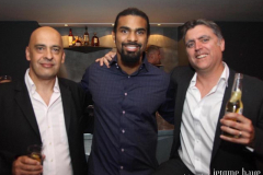 With David Haye & Sean Collins